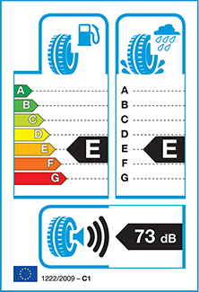 Sample Tyre Label