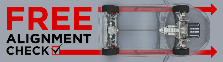 Free Wheel Alignment Check Banner
