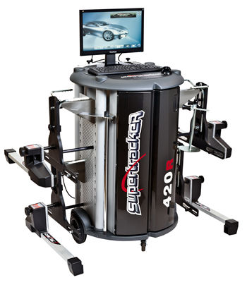 Computerized Wheel Alignment Testing Equipment
